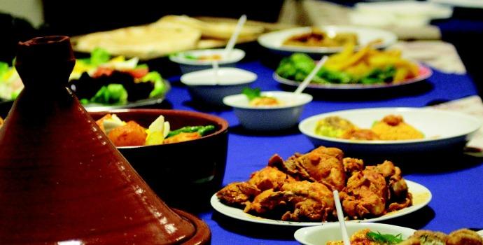Pratos típicos marroquinos