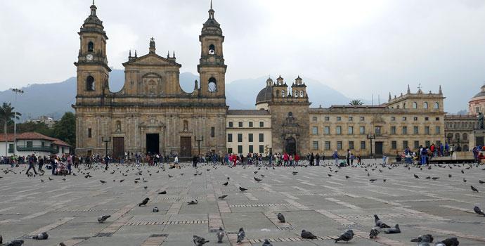 Igreja em Bogotá