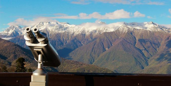 montanhas do Cáucaso