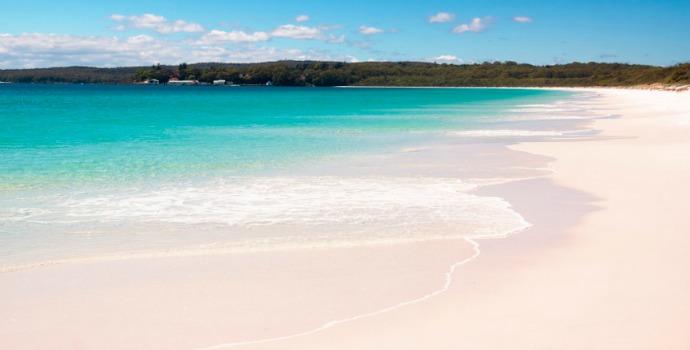 Hyams Beach na Austrália