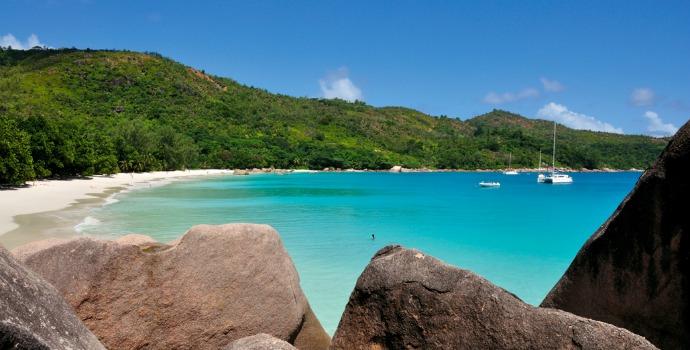Anse Lazio, Seycheller no Oceano Índico
