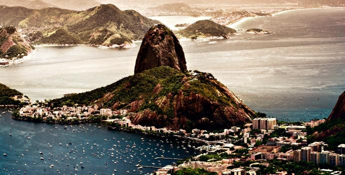 Pão de açucar no Rio de Janeiro