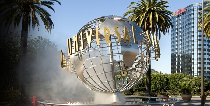 entrada da Universal Studios Hollywood