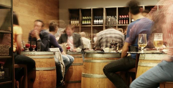 Bar em Madri