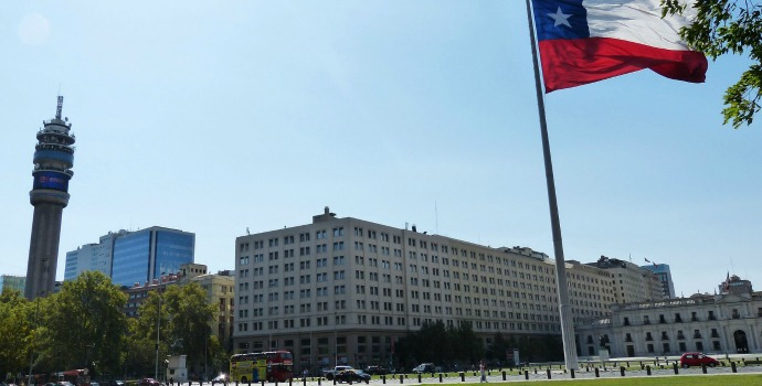 Palacio de La Moneda no Chile