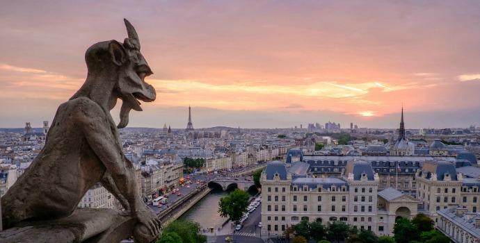 Gárgulas da Catedral de Notre Dame