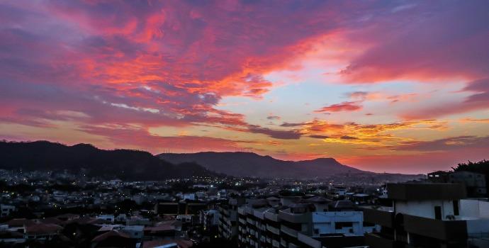 vista panorâmica da cidade de Guayaquil, Equador