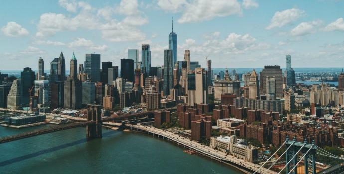 Vista da cidade de Nova York
