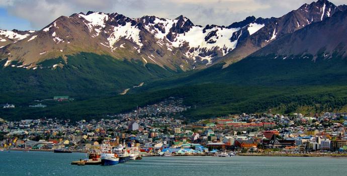 Porto em Ushuaia