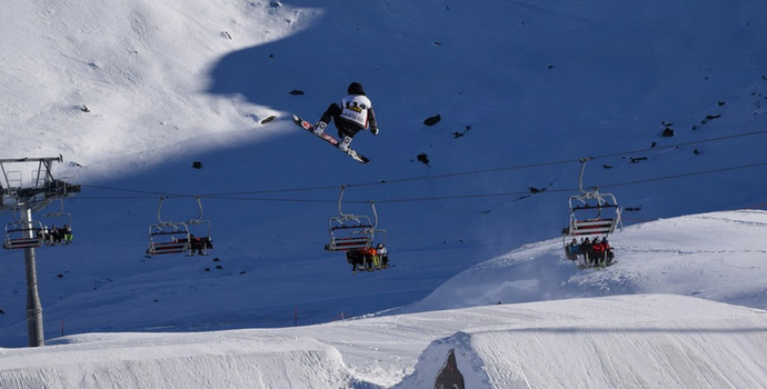 Estação de esqui St. Moritz
