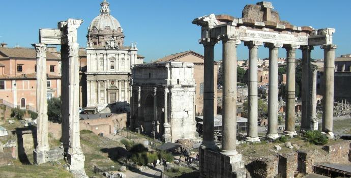 Fórum Romano e Monte Palatino