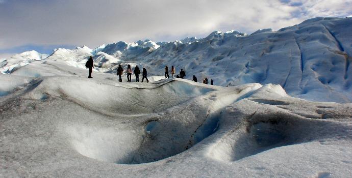 Neve powder no Ushuaia