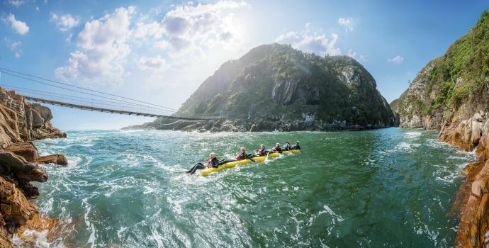 Rafting na África do Sul
