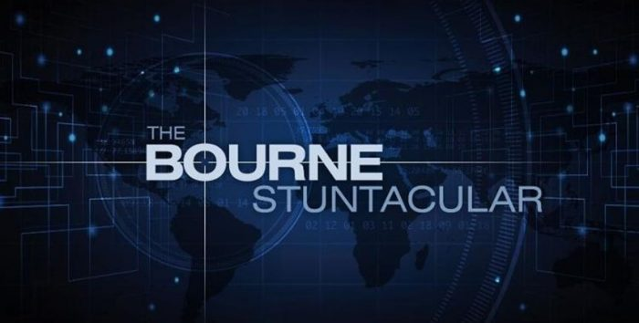 Foto da nova atração da Universal sobre Jason Bourne