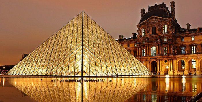 Imagem do Museu do Louvre