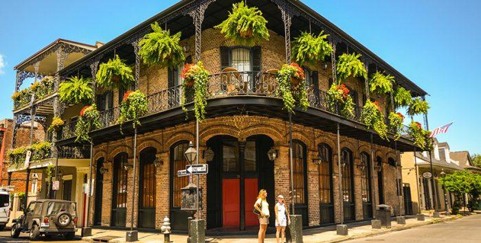 Foto do French Quarter, em Nova Orleans