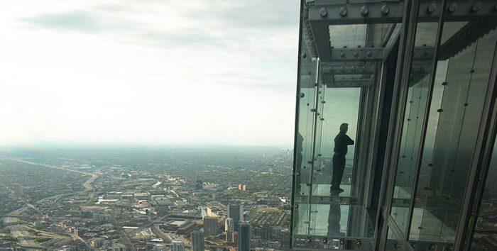 Foto da vista panorâmica de Chicago