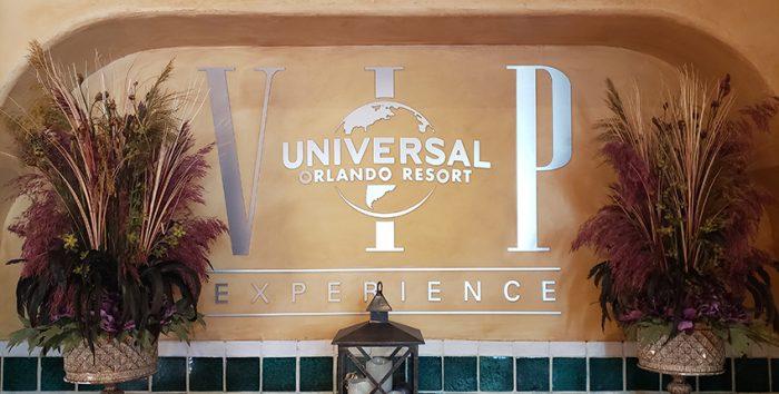 Foto da entrada do Universal Orlando