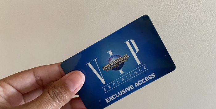 Foto do cartão VIP