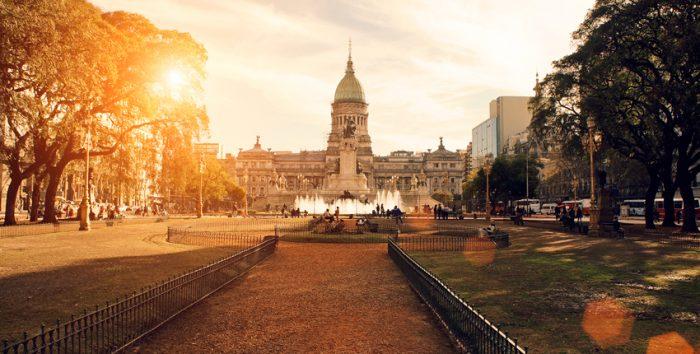 Foto da região central de Buenos Aires