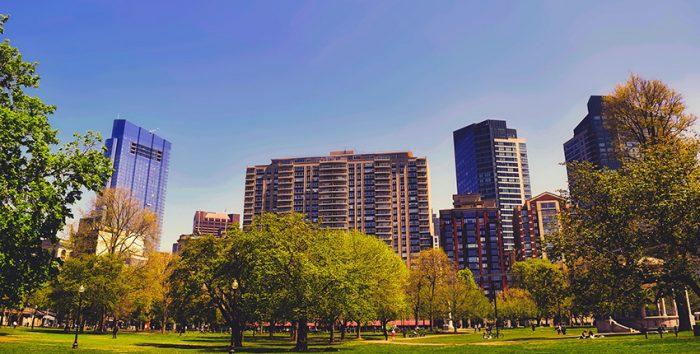 Foto parque de Boston