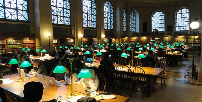 Foto da Biblioteca de Boston