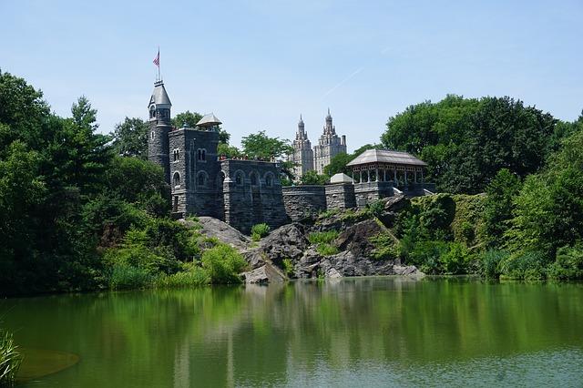 Castelo no Central Park
