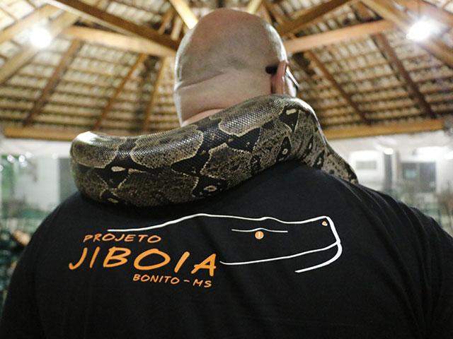 Projeto Jiboia em Bonito