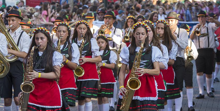 foto oktoberfest de Blumenau