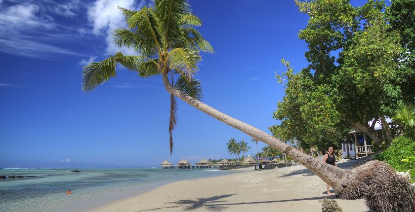 Samoa, no Pacífico
