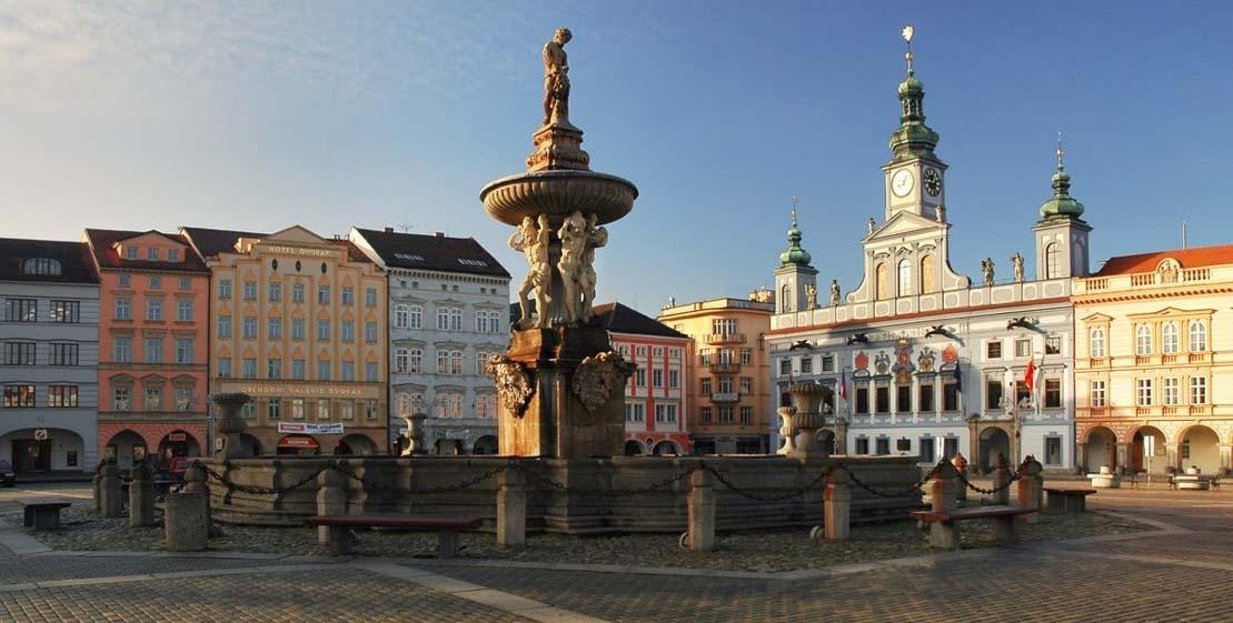 Foto da Cidade de České Budějovice