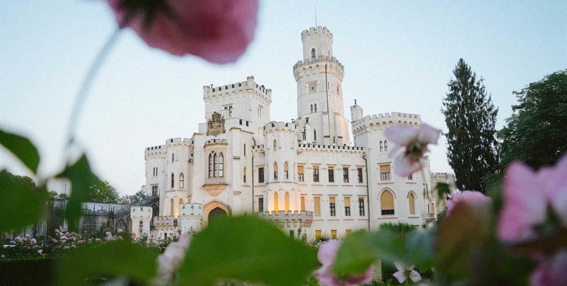 Foto do Palácio de Hluboká