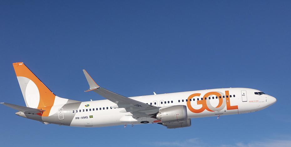 Foto avião da Gol